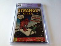 STRANGE TALES 94 CGC 4.0 SAVE ME FROM THE WEED HELP DITKO KIRBY MARVEL COMICS