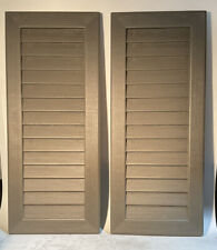 Pack Of 2 Lifetime Shed Shutters