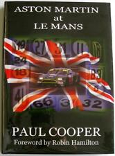 ASTON MARTIN AT LE MANS Paul Cooper Unsigned Car Book