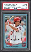 2013 Topps Update #US8 ANTHONY RENDON Wal-Mart Blue Border PSA 10 Gem Mint