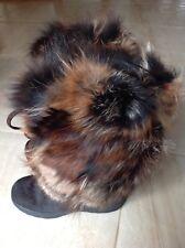 Ladies PAJAR Fox Trot Fur & Calf Apres Ski Winter Boots US 9 / EU 39