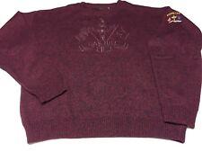 Vintage 1995 Oak Hill 31st Ryder Cup Match Bobby Jones Maroon Golf Sweater XL