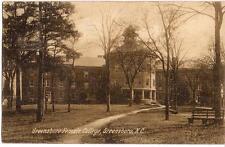 GREENSBORO (Women's) Female College Building NC PM 1909 Rotograph Posttcard