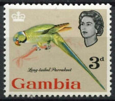 Mint Hinged Birds British Postages Stamps