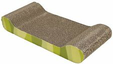 Cat Kitten Scratching Post Corrugated Cardboard Scratch Pole Board - Lounge