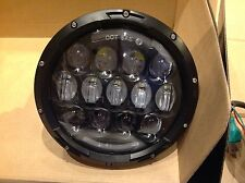 "JEEP Wrangler TJ JK 7"" Nero LED ad alta fuori messo HEAD LIGHTS Grande"