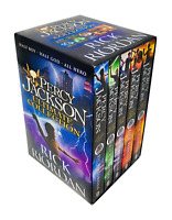 Rick Riordan 5 Books Collection Set Percy Jackson Series Paperback NEW