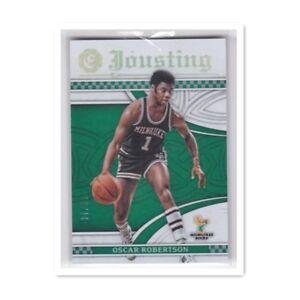 2016-17 Panini Excalibur Jousting #/10 OSCAR ROBERTSON Basketball Card