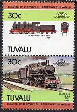 Tuvalu 1984 Railway Locomotives 3rd Series SG 277ba POST OFFICE Watermark U/M