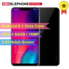 "4GB+64GB Elephone A4 Pro 4G Smartphone 5.85"" Android 8.1 Octa Core Dual SIM 16MP"
