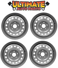 """Wheels Set of 4 Steel (Silver) 15"""" for 10-13 Ford Transit Connect"""