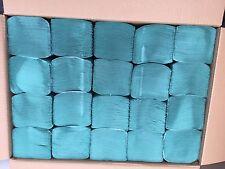 Great Value Bulk Green Paper Hand Towels  Z Fold 4000Tissues  20packs X 200