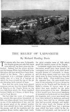 Richard Harding Davis BOER WAR SOUTH AFRICA Ladysmith LONG TOM General Buller
