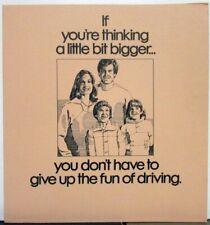 1979 Pontiac Grand Prix Grand Am Features Sales Brochure Original