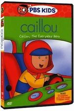 Caillou Caillou The Everyday Hero With Caillou DVD Region 1 841887051903