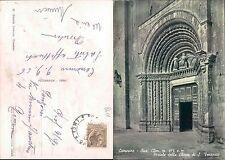 CAMERINO - PORTALE DELLA CHIESA DI S. VENANZIO           (rif.fg.8611)