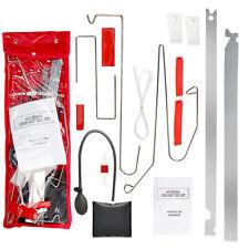 12pc Car Door Lock Out Key Lost Emergency Open Unlock Tool Kits +Air Pump +Wedge