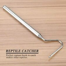 Stainless Steel Extensible Snake Hook Retractable Reptile Hook Catch Small Snake