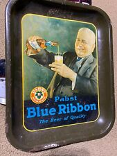 New listing Vintage Antique Pabst Blue Ribbon Beer Tray