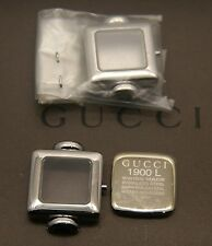 New Gucci Replacement Case Set, Case, Crystal and Back - 1900 L -  SS