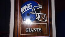 NFL Football New York Giants Team Souvenir Wall Plaque