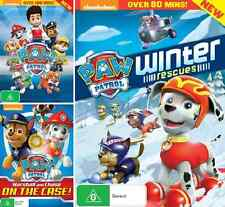 PAW PATROL Collection - Marshall & Chase Case - Winter Rescue : NEW 3 DVD