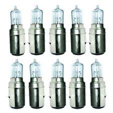 10 Units 12V 35/35W Motorcycle Headlamp Headlight Halogen M-5 Bulb BA20D Type