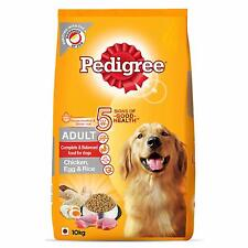 Pedigree Adult Dry Dog Food, (High Protein Variant) Chicken,Egg & Rice,10kg Pack