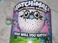 Hatchimals Glittering Garden Hatching Egg + Bonus LOL Surprise Charm Fizz