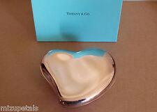 Authentic Vintage Rare Elsa Peretti Tiffany & Co XL Sterling Silver Heart Box