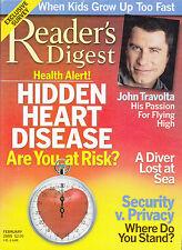 Magazine Reader's Digest February 2005 John Travolta Hidden Heart Disease 02