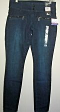 NEW DKNY WOMEN'S' CITY ULTRA SKINNY JEANS LOW RISE DARK WASH SIZE: 02  $ 89.50