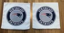 """NEW ENGLAND PATRIOTS 16"""" Pillow Case Cover NFL Brady Belichick FREE SHIPPING!"""