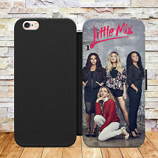 LITTLE MIX MUSIC POP PHONE FLIP WALLET CASE COVER FOR IPHONE 7 SAMSUNG S7 MODELS