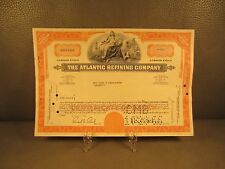 1966 The Atlantic Refining Co. Antique Stock Certificate - FREE SHIPPING !!
