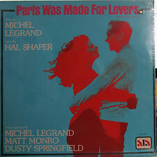 Paris Was Made for Lovers (Soundtrack) Dusty Springfield,Michel Legrand (sealed)