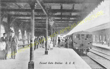 Forest Gate Railway Station Photo. Stratford - Manor Park. Ilford Line. (6)