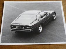 PORSCHE 924  ORIGINAL PRESS PHOTO