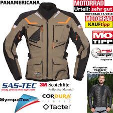 MODEKA Jacke PANAMERICANA Motorrad sand Sympatex Thermoweste SAS-TEC Protektoren