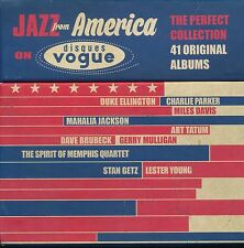 Jazz From America On Disques Vogue 41 albums CD NEW Ellington Davis Getz Tatum