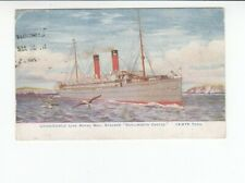 Postcard. Union Castle Line Royal Mail Steamer. Kenilworth Castle. 12975 Tons.
