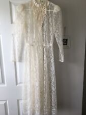 New listing Lace Victorian Style Sheer Dress
