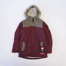 686 Women Runway Infiloft Snowboard Jacket (S) Tobacco Herringbone
