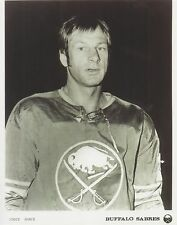 EDDIE SHACK 8X10 PHOTO HOCKEY BUFFALO SABRES PICTURE NHL B/W