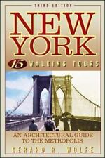 New York, 15 Walking Tours: An Architectural Guide to the Metropolis (Paperback