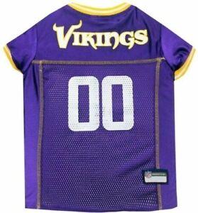 Dog Puppy NFL Jersey Shirt - Minnesota Vikings - Small S