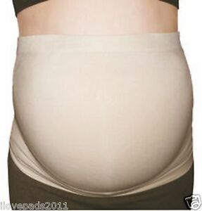 """SALE"" 2PK Maternity Belly Band Belt Pregancy CE Seamless Stretch Supportive"