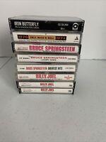 Cassette Tape Lot Of 8 Billy Joel Bruce Springsteen