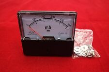 1pc DC 0-500mA Analog Ammeter Panel AMP Current Meter 60*70MM directly Connect