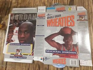 WHEATIES MICHAEL JORDAN COLLECTORS EDITION NEW NEVER BEEN FOLDED BOX